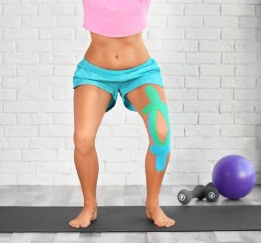 StarkTape recovery kinesiology sports knee tape
