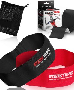 StarkTape Hip Circle SET Resistance Exercise Booty Band Glutes Core Mobility Kinesiology Tape Carrying bag