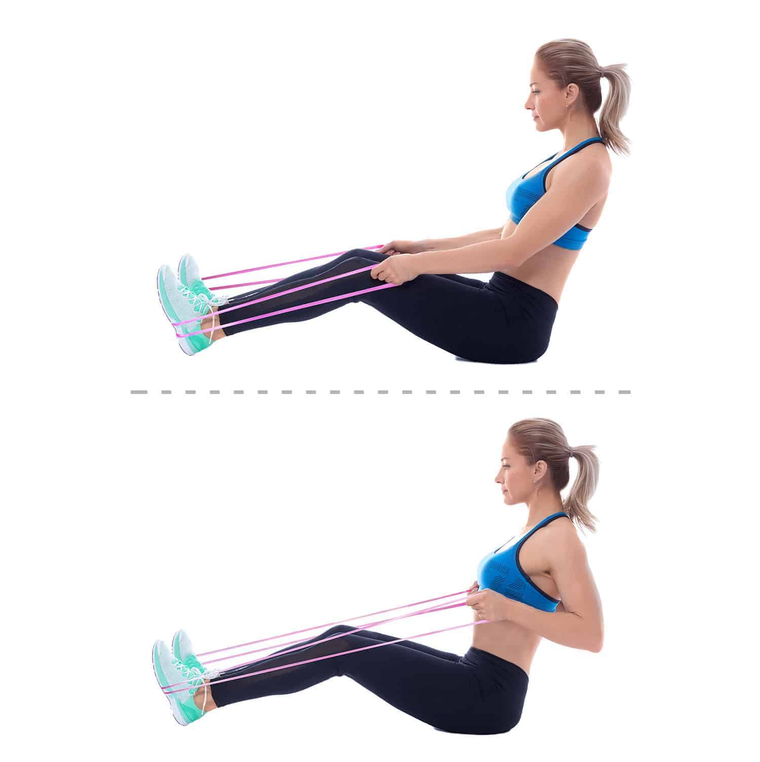 Workout Bands Booty: THE PERFECT SHAPE FOR YOUR LEGS AND BUTT
